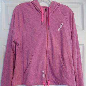Reebok Avon Breast Cancer Awareness Zip Hoodie